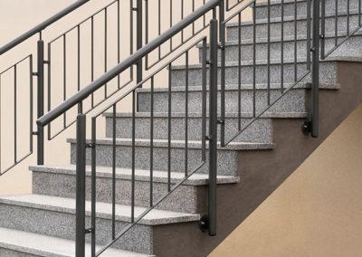 Treppengeländer aus Metall - Schlosserei Knor Mönchengladbch